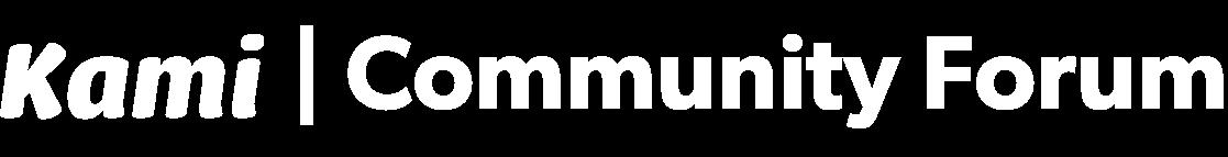 Kami Community